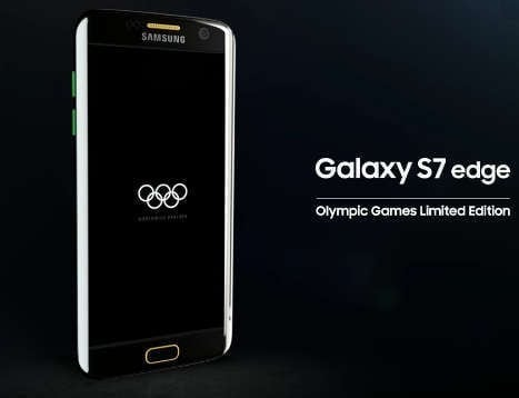 Samsung Gives Olympic Games Limited Edition Galaxy S7 edge ...