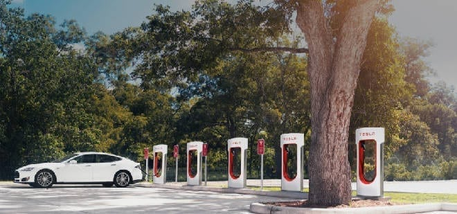 Supercharger Stations