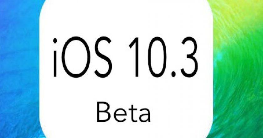 iOS 10.3 Features