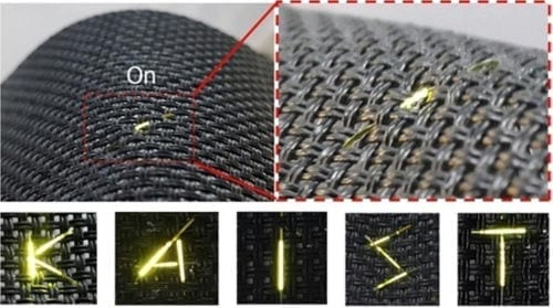 Fibre OLED Fabric