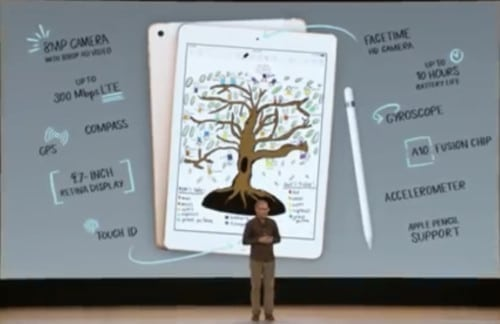 Apple Education Event, Augmented Reality