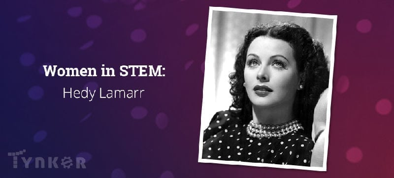 Hedy Lamarr, secret communications system, Hedy, communications system, secret communications