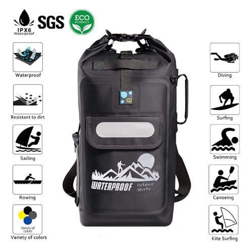 waterproof backpacks, backpacks, water bottle, 90s backpacks, academic tools