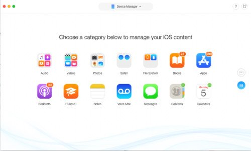 AnyTrans, File Transfer, iOS and Mac, data, iTunes