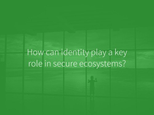 Secure Ecosystems, civic app, social security number, Time spent on mobile device, protecting data