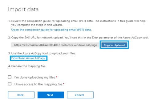 Import PST to Office 365 & Upload Outlook data to Office 365