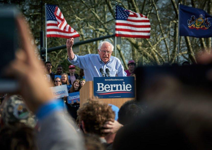 Political Advertising, Bernie Sanders, Presidential candidate, Democrat voters, political campaign