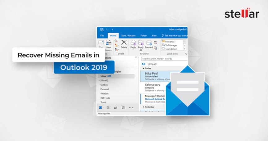 Recover Missing Emails, Emails in Outlook, Recover Emails, Deleted Items, Accidental Deletion