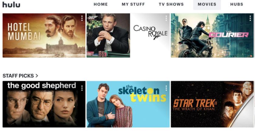 Hulu Movies, Hulu Entertainment, subscription service, streaming video , Hulu,
