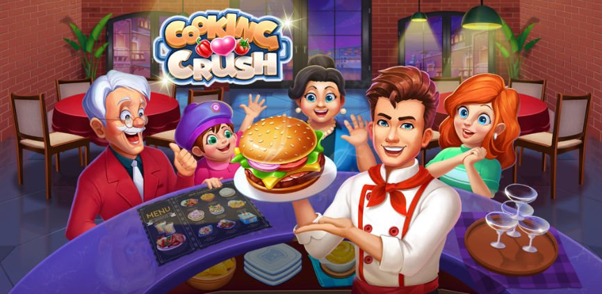 Cooking Games, Cooking Crush, Heartopia's Hearty Chef, Community Goals, Games about cooking