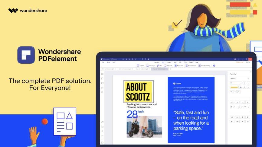 Wondershare PDFelement 8, PDF document, Manage PDF documents, PDFelement 8 Review, PDF Editor