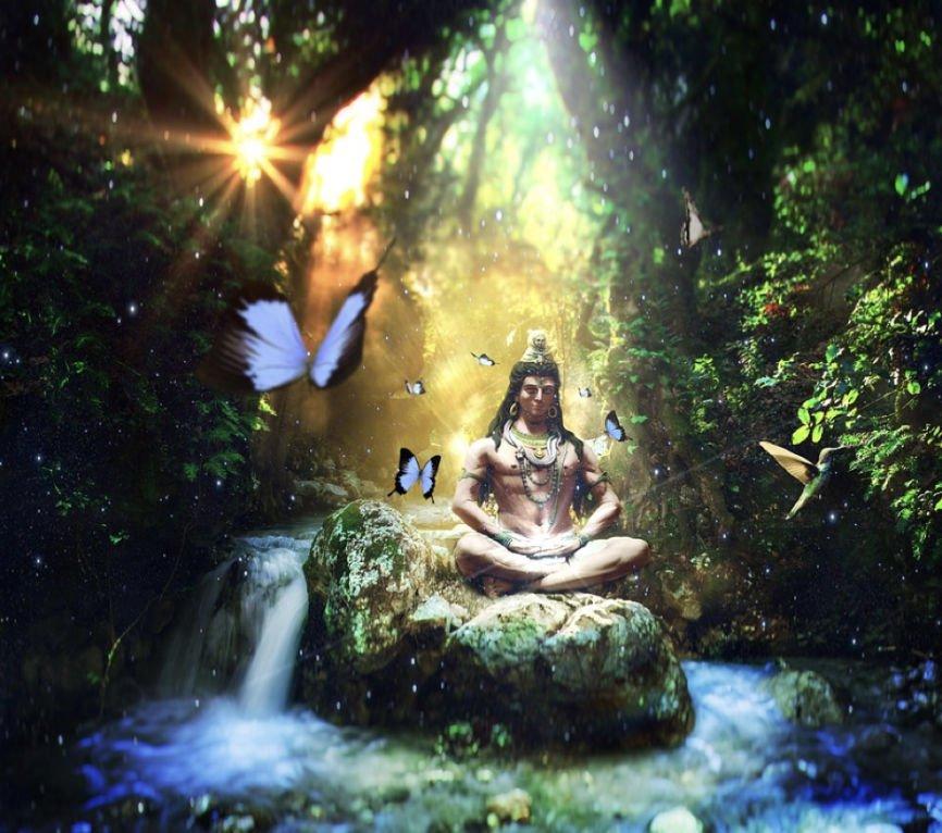 Native Meditating