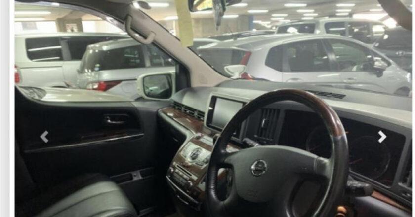 Interior of Nissan ElGrand, Japanese Cars