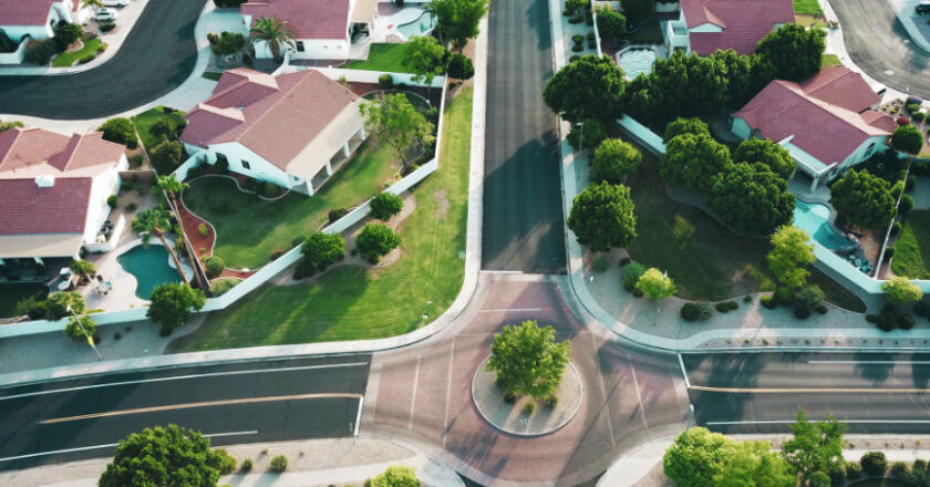 Areal view of subdivision-Real Estate