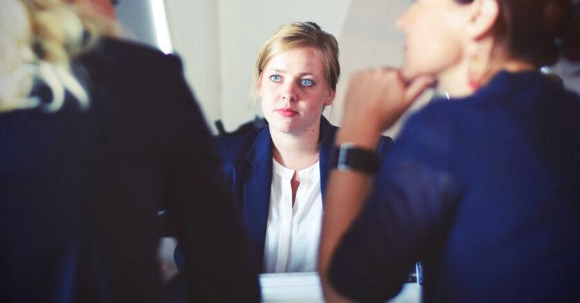 Human resources meeting