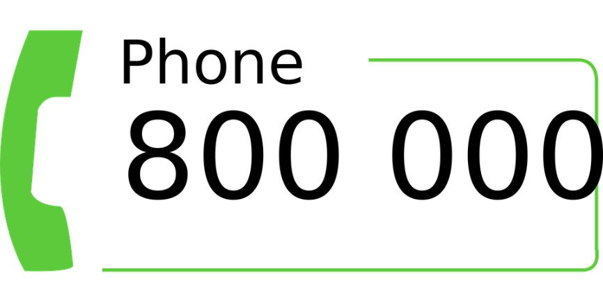 1 800 number