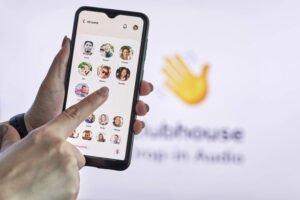 Clubhouse social audio app