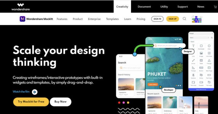 App Design Tool Mockitt