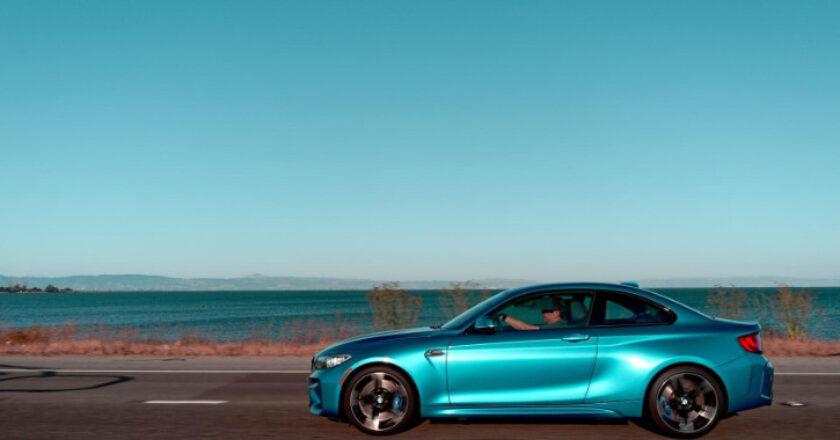 Blur Car On Open Road