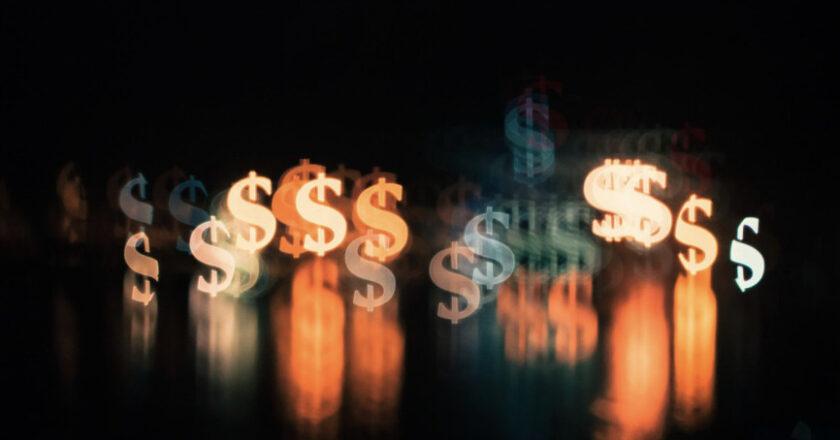 Illuminated Dollar Signs