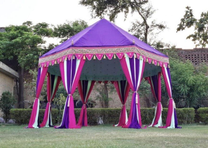 Purple Party Tent