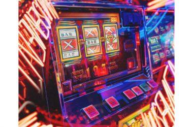 Abstract design of casino gambling