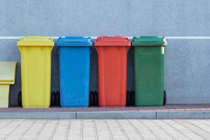 Recycle collection containers