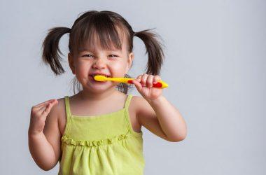 Baby brushing teeth, Pediatric Dentist