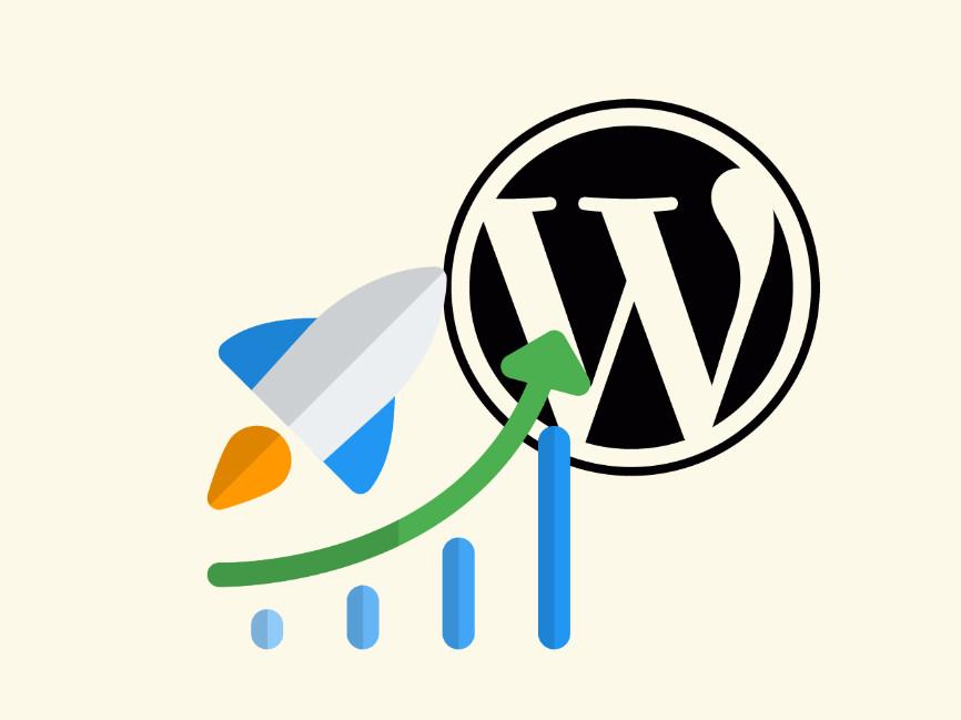 Abstract drawing representing WordPress