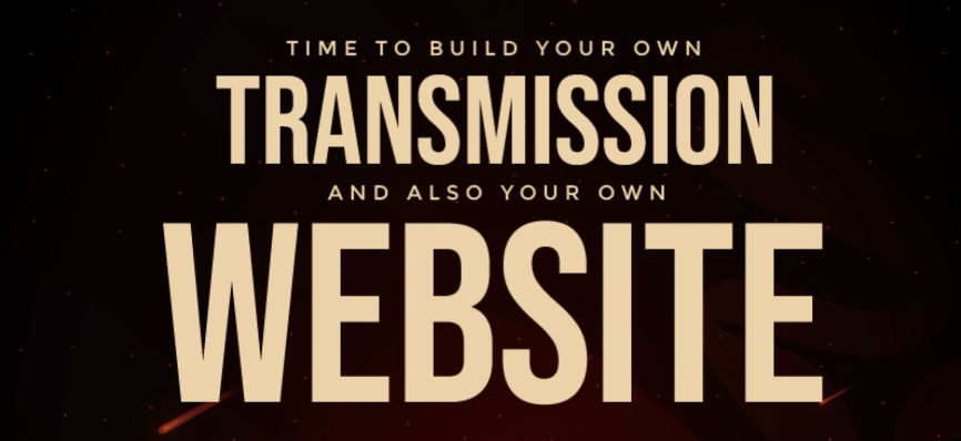 Time to build your own website