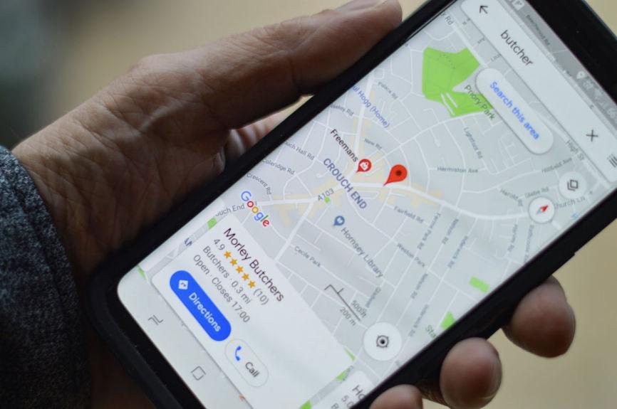 Local SEO Google map image
