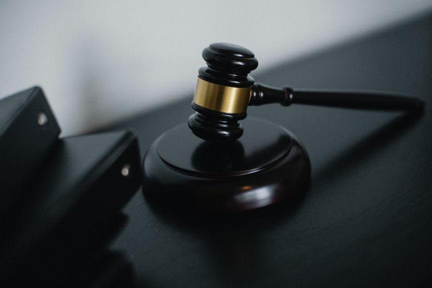 A judges gavel