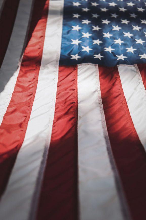 American Flag For Deceased Veterans