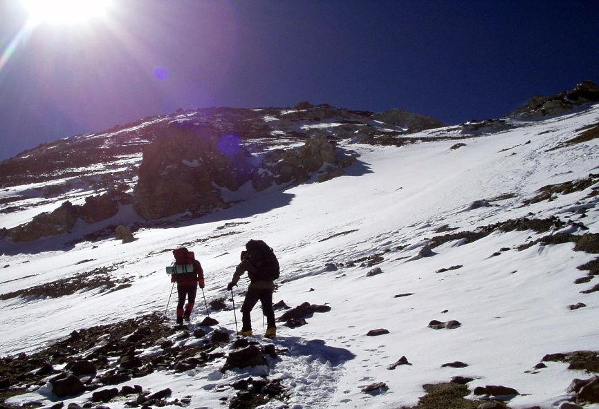Mountain. Climbing