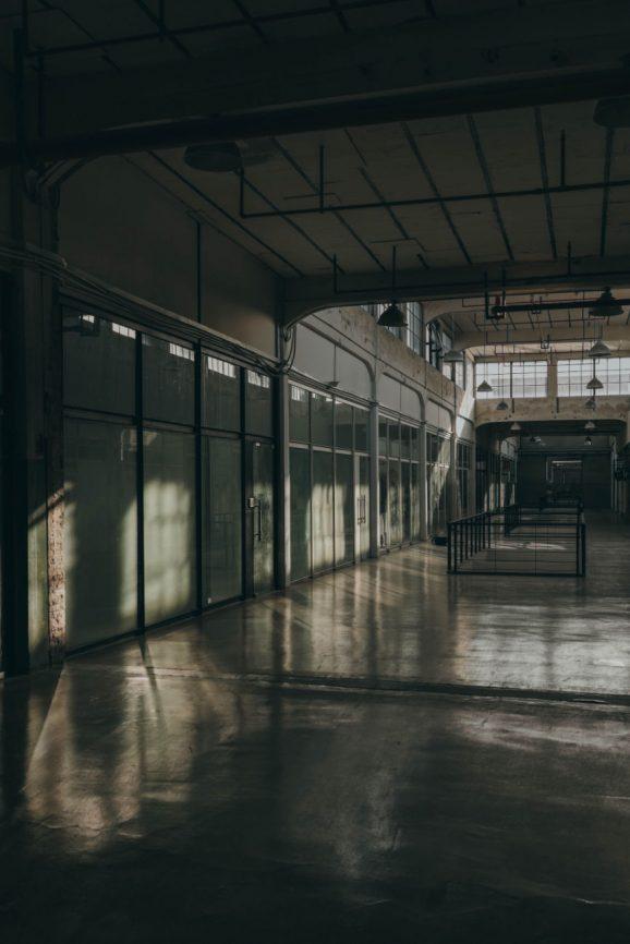 Painted Factory Floor