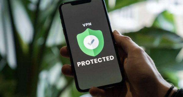 VPN displayed on a smartphone